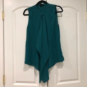 H&M Kelly green blouse